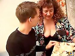 MILF seems to be very popular sucker when she was younger and her blowjob was just perfect