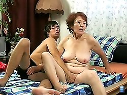 In return old cutie gives him a head then stands doggy fashion to get fucked from behind on porn videos.