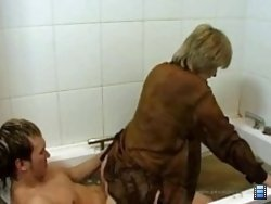 Young boy gets wasted enough to go deep down and dirty with his own mum